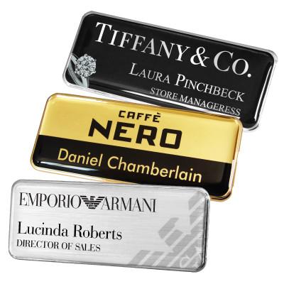 metal name badges name badges international staff name badges